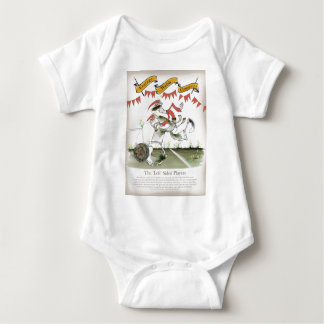 welsh football left winger baby bodysuit