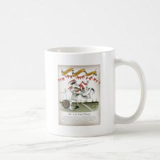 welsh football left winger coffee mug