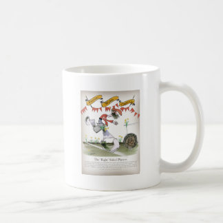 welsh football right winger coffee mug