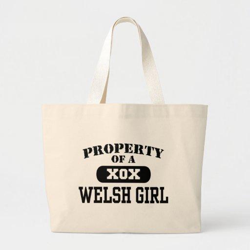 Welsh Girl Tote Bag