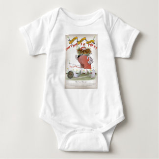 welsh goalkeeper baby bodysuit