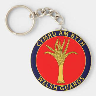 Welsh Guards Key Chain