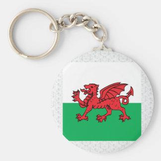 Welsh High quality Flag Keychain