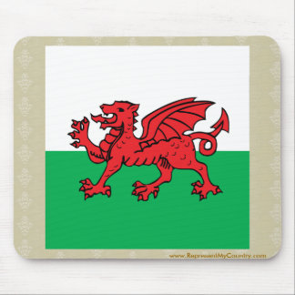 Welsh High quality Flag Mouse Pad