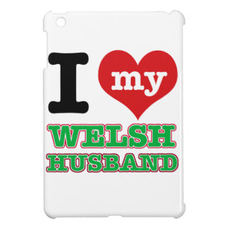 Welsh I heart designs Cover For The iPad Mini