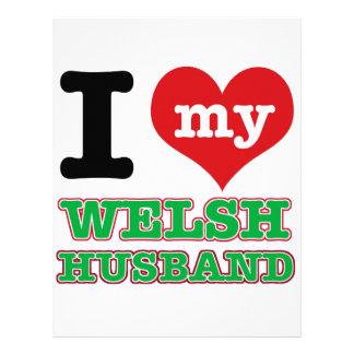 Welsh I heart designs Letterhead
