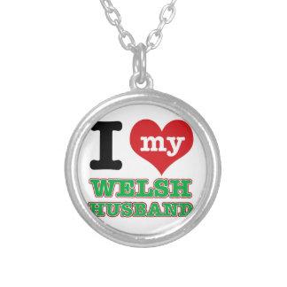 Welsh I heart designs Custom Necklace