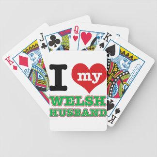 Welsh I heart designs Card Deck