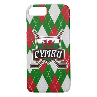Welsh Ice Hockey Flag Mobile Case