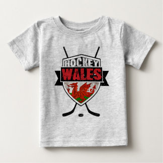 Welsh Ice Hockey Shield Baby Tee