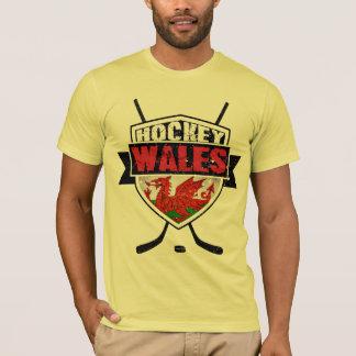 Welsh Ice Hockey Shield Tee Shirt