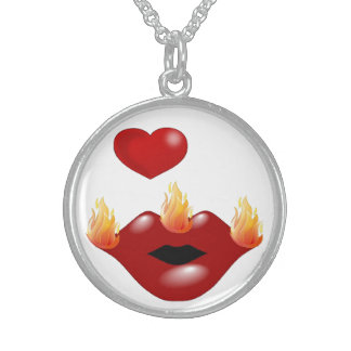 Welsh Kiss Sterling Silver Necklace