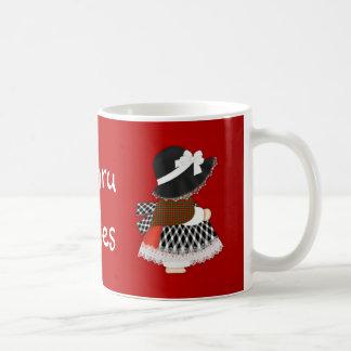 Welsh Lady 11 oz Classic White Mug