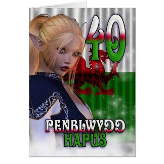 Welsh Language Card English Translation Birthday