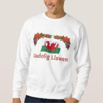 Welsh Merry Christmas Sweatshirt