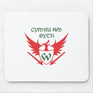 WELSH MOTTO MOUSE PAD