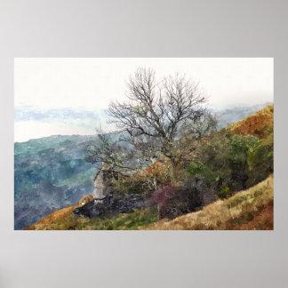 WELSH MOUNTAIN LANDSCAPE POSTER