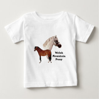 Welsh Mountain Pony Baby T-Shirt