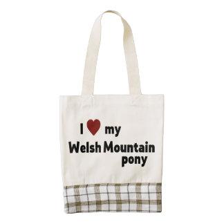 Welsh Mountain pony Zazzle HEART Tote Bag