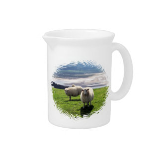 WELSH MOUNTAIN SHEEP DRINK PITCHER