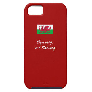 Welsh, not English iPhone 5 Case