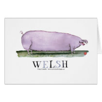 welsh pig, tony fernandes card