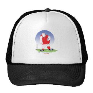welsh player, tony fernandes trucker hat