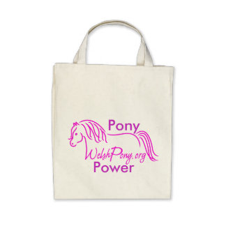 Welsh Pony Cob Society of America Canvas Bags