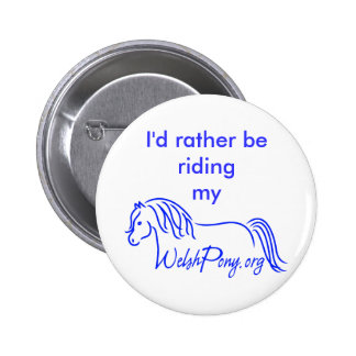 Welsh Pony & Cob Society of America Button