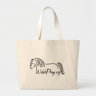 Welsh Pony & Cob Society of America Large Tote Bag