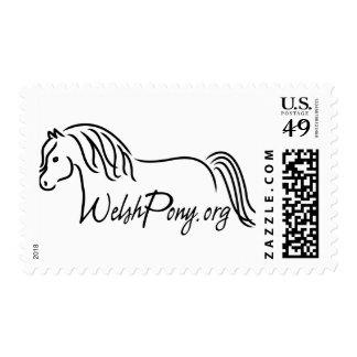 Welsh Pony & Cob Society of America Postage Stamps