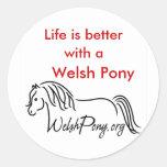 Welsh Pony & Cob Society Sticker