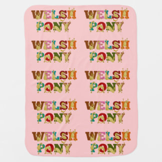 Welsh pony for girls receiving blankets