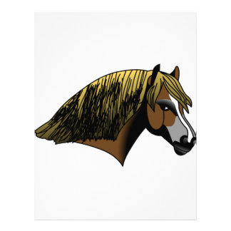 Welsh Pony Head Letterhead