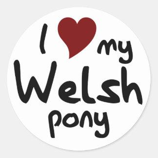 Welsh pony stickers