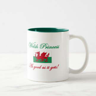 Welsh Princess-Good As Two-Tone Coffee Mug