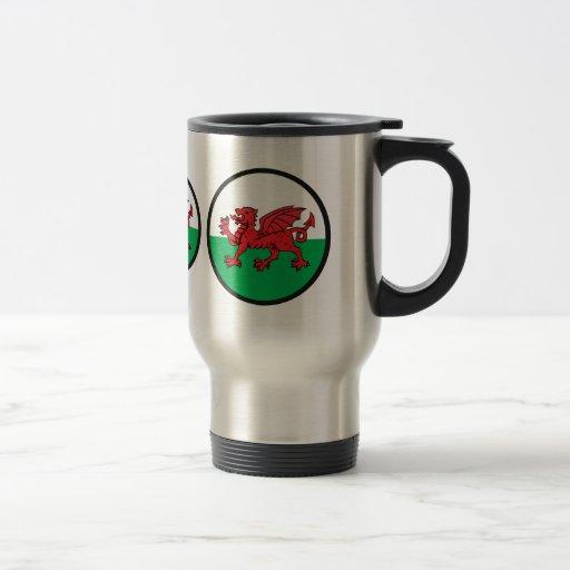 Welsh quality Flag Circle Mug