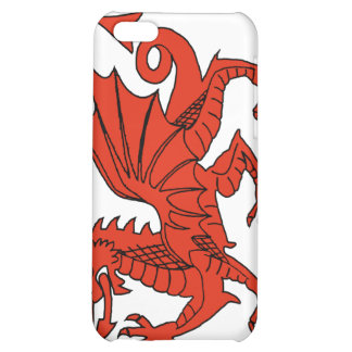 Welsh Red Dragon  Cover For iPhone 5C