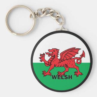 Welsh Roundel quality Flag Key Chains