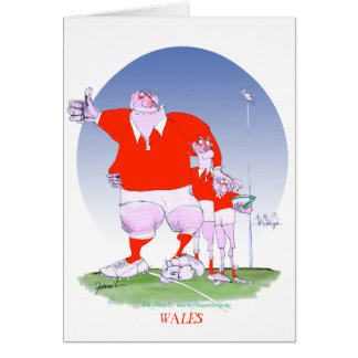 welsh rugby chums, tony fernandes card