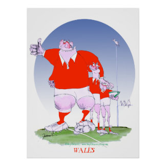 welsh rugby chums, tony fernandes poster