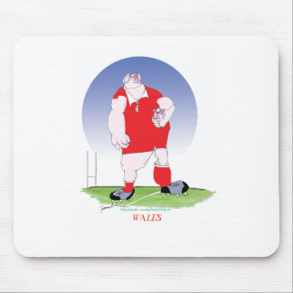 Welsh Rugby Player, tony fernandes Mouse Pad