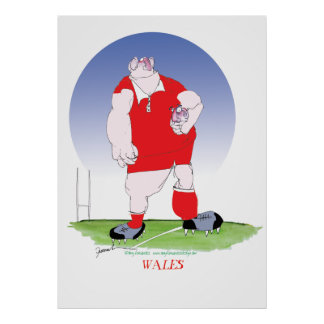 welsh rugby, tony fernandes poster