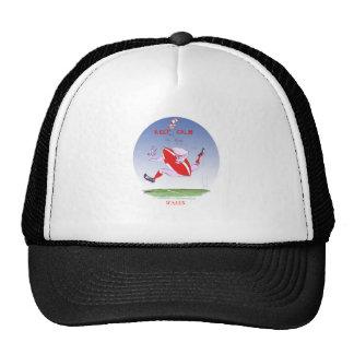 welsh rugby, tony fernandes trucker hat