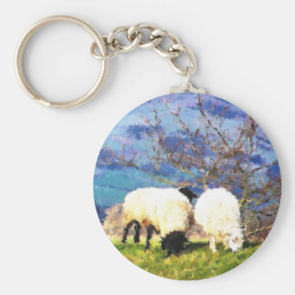 WELSH SHEEP KEYCHAINS