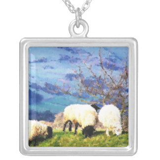 WELSH SHEEP CUSTOM NECKLACE