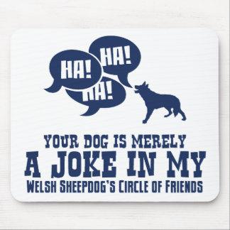 Welsh Sheepdog Mouse Mat