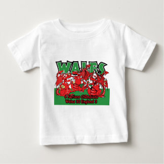Welsh Six Nation Rugby Champions, W 30-3 E Baby T-Shirt