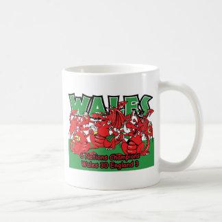 Welsh Six Nation Rugby Champions, W 30-3 E Coffee Mug