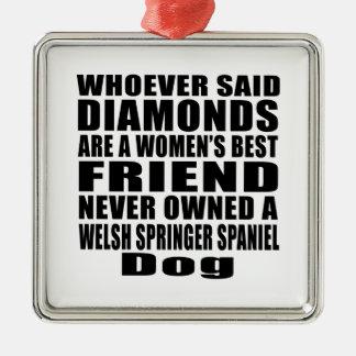 WELSH SPRINGER SPANIEL DOG BEST FRIEND DESIGNS METAL ORNAMENT